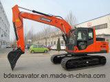Escavatori medi 15ton del cingolo di Baoding con il certificato ISO9001