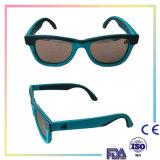 Óculos de sol coloridos do frame do estilo da forma do projeto simples para miúdos