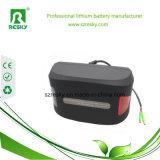 24V 7ah 8ah de Batterij van het Lithium met het MiniOmhulsel van de Kikker voor Vouwbare Ebike