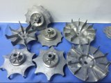 La polea de la rueda de freno de la polea del motor de aluminio a presión la pieza de la lavadora de la fundición