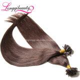 Trama barata do cabelo da ponta de Remy U da venda por atacado da extensão 100