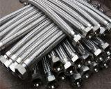 L'acier inoxydable a tressé le boyau flexible 304 en métal