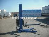 2.7t movibles escogen la elevación hidráulica del coche del alzamiento del coche de poste con Ce