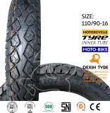 Motorrad-Motorrad-Reifen-Gummireifen weg von Straße 110/90-16
