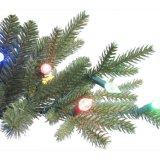 10.5 FT. Apenas cortar a árvore de Natal artificial do abeto de luxe de Aspen com cor que 1100 o diodo emissor de luz bem escolhido se ilumina (MY100.077.00)