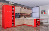 熱い販売の高い光沢のあるピアノラッカー食器棚(Zs-808)