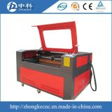 Le double dirige la machine de découpage de laser de tissu