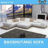 Sofá de couro moderno F104