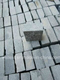 Pietra per lastricati del cubo grigio scuro del granito di Padang del sesamo G654