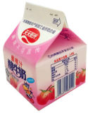 carton 232ml triangulaire pour le jus de lait/cadre de crème/vin/yaourt/eau