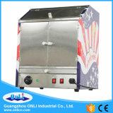 De commerciële Machine van de Showcase van de Popcorn van de Hete Lucht Warmere - het Gebied van Voedsel Twee