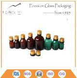 Botella de cristal del petróleo del humo de la salud para el cigarrillo de E