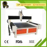 Woodworking que anuncia a máquina de gravura do CNC