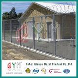 PVC покрыл загородку высокия уровня безопасности/Анти--Взбирается 358 сваренная загородками загородка ячеистой сети