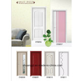 Último design PVC MDF Door Interior Wooden House Entry Door