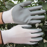 перчатка работы безопасности перчаток перчаток NBR 13G Polyster покрынная нитрилом