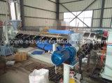 HDPE a mesma máquina 50-315mm da extrusão da tubulação da drenagem do assoalho