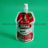 Arten des Fastfood- Beutel-Beutels mit Tülle für Saft, Milch