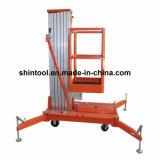 10m Mobile Hydraulic Lifting Platform met Single Mast (AWP10-1000)