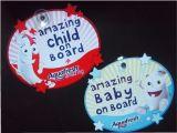 Младенец на борту Car Sign