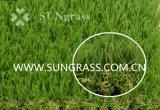 Herbe artificielle d'horizontal enduit d'unité centrale (SUNQ-HY00152)