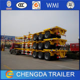 3 Radachse 40t 40FT Skeleton Chassis Container Semi Trailer