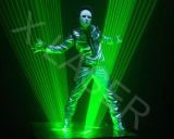 Laser Show를 위한 Laser Man Show Animation Green Lighting