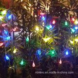 Lumière solaire de chaîne de caractères de 10 DEL pour la décoration de jardin (RS1008)