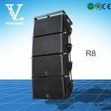 R8 Single 8 '' Малый линейный массив стереосистема