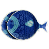 плита рыб меламина 11.5inch (PT202)