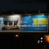 Extérieure pôle aluminium de défilement Light Box Billboard (F3V-131S)