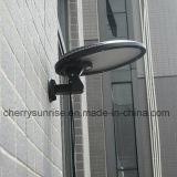 Lumière extérieure de support de mur de décor de lampe de yard d'horizontal de frontière de sécurité de jardin de l'énergie solaire DEL