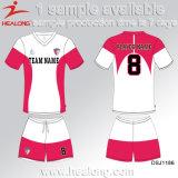 Healongの服装の工場価格の昇華大学サッカージャージー