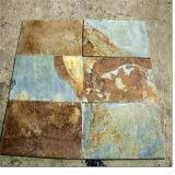 Pietra arrugginita della coltura della parete di pietra dell'ardesia da vendere