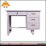Moderner einfacher Entwurfs-Stahlbüropersonal-Schreibtisch mit guter Qualität