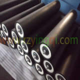 Mining TransportのためのコンベヤーSteel Stainless Steel HDPE Poly Zinc Weigh Guide Side Steel Idler Roll Roller