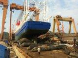 Bolsa a ar de borracha marinha usada navio para o navio que lanç e que aterra