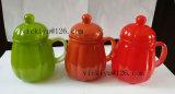 acqua di vetro di Dor del vaso del gufo arancione 300ml
