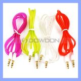 Farbe 3.5mm Cable Aux Audio Cable für iPhone Ipods MP3