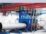 Máquinas de la limpieza de la ráfaga de tiro de la pared externa del tubo de acero