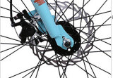 Fat leggero Tire Beach Bicycle di Alloy con Shimano Derailleur
