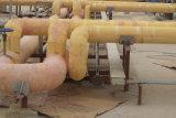 アルミホイル、岩綿が付いている岩綿の管
