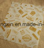 Nahrungsmittelgrad PET überzogenes Hamburger-Verpackungs-Papier