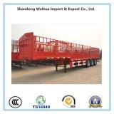 2017 de Hete Aanhangwagen van de Omheining van het Vervoer van de Lading Saling, de Aanhangwagen van de Vrachtwagen van de Staak