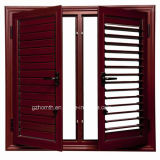 Louver manual Blade Window Widely Used para Apartment (HM-A015)
