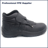 Отсутствие обуви техники безопасности на производстве впрыски PU шнурка водоустойчивой