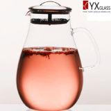 стекло Высок-Боросиликата 1500ml заморозило кувшин управлением чая/замороженный стеклом создателя чая/стеклянный чайник с фильтром S/S