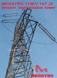 Torretta della trasmissione di tensionamento di Megatro 110kv 1A7 J3