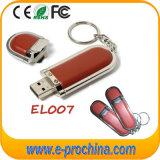 USB3.0 de Aandrijving van de Pen van de Flits van het leer USB voor PromotieProducten