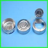 Casquillo plástico de aluminio para los frascos